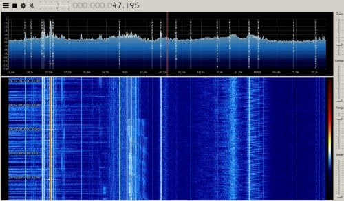15 - 70 kHz VLF Received with an Upconverter and Direct Sampling RTL-SDR