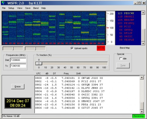 The WSPR Software