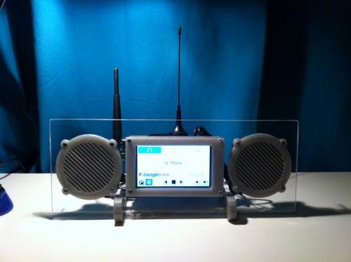 BeagleBone Blade FM/Internet Radio Combo Receiver
