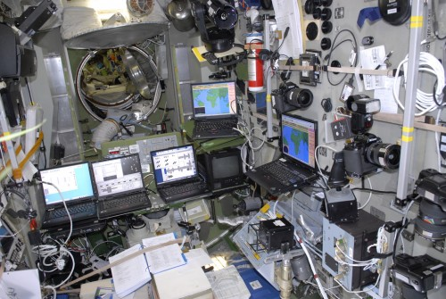 Computers on the ISS used to transmit SSTV images