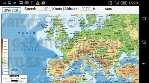 Europe ADS-B App