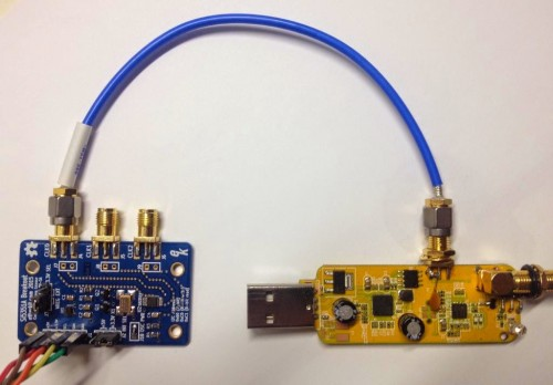 Using a Si5351A to replace the local oscillator on an RTL-SDR.