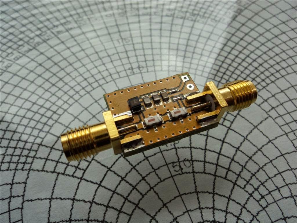 Filter Tunable Band Pass Circuit Ads B Ltcc With Bias Tee