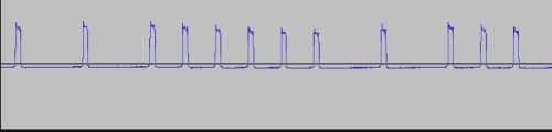 Differential Pulse Position Modulation in Audacity