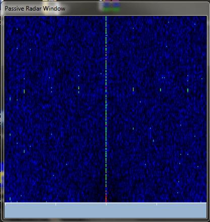 The Passive Radar window.
