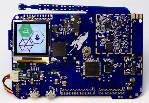 The Rad1o, a HackRF compatible software defined radio.