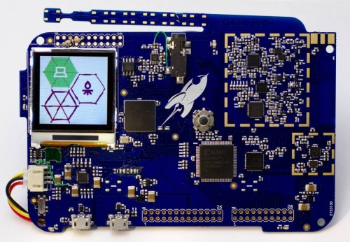The Rad1o, a HackRF compatible software defined radio.