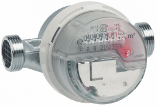 An example water meter that could be monitored with an RTL-SDR dongle