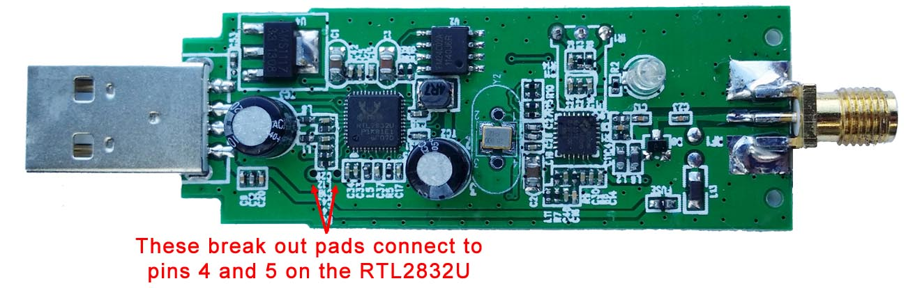 RTL-SDR-Empf/änger Radioempf/änger Tragbare Aluminiumlegierung RTL2832U R820T2 USB-Tuner mit Antenne