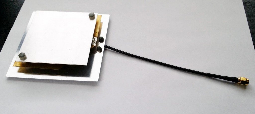 The prototype Outernet Patch Antenna