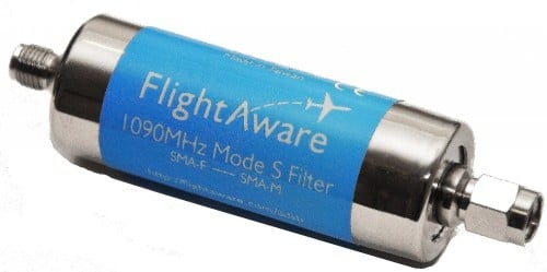 The FlightAware 1090 MHz ADS-B Filter
