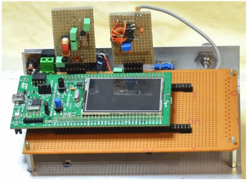 The ARM Radio with the low pass filter and reconstruction filter shown.