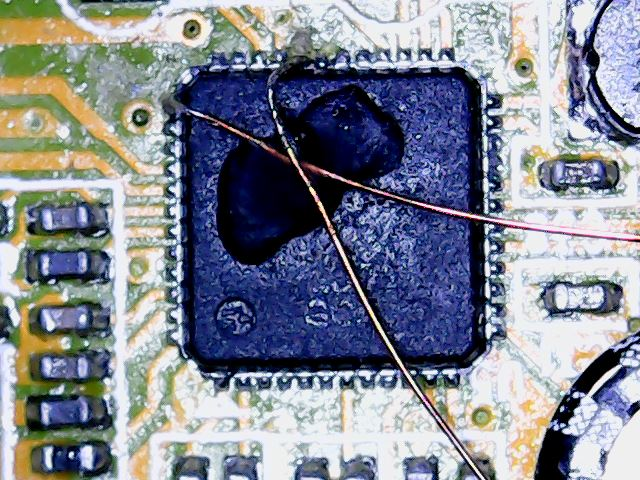 Connecting to the GPIO ports requires good SMT soldering skills.
