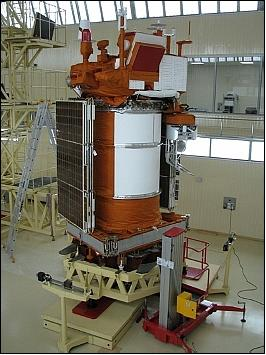 The Meteor M-N1 Satellite.