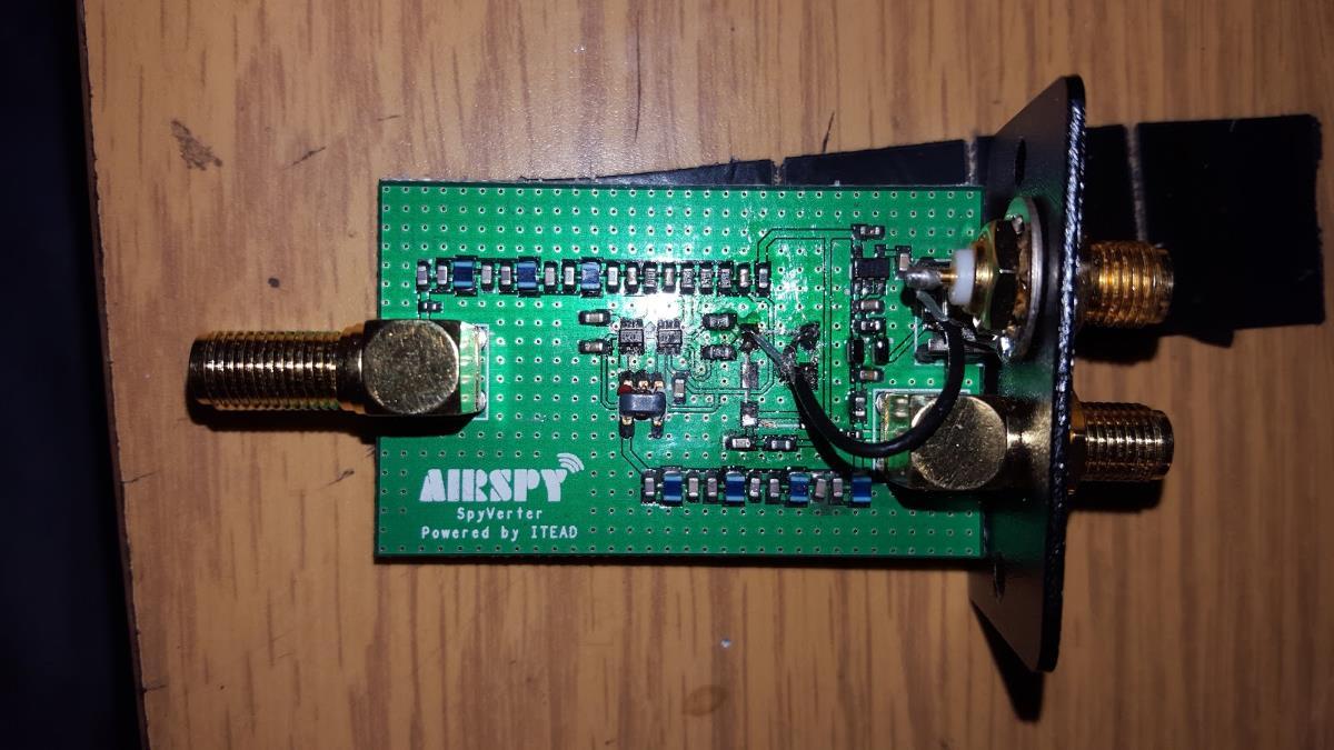 Modded Spyverter with external clock input.