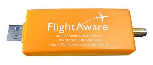 The new FlightAware ADS-B optimized RTL-SDR.