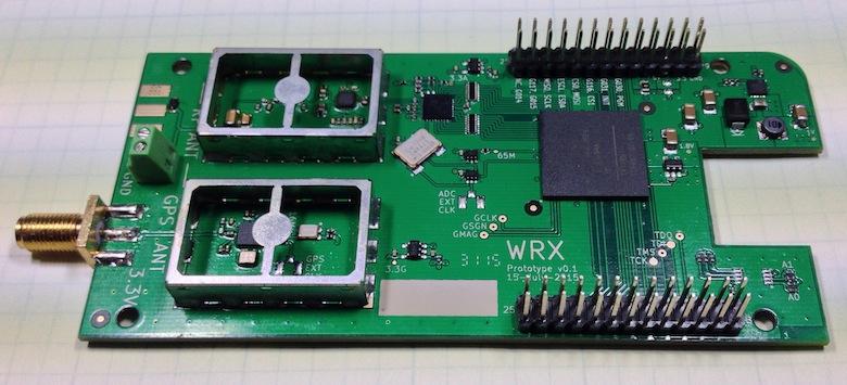 The KiwiSDR Prototype
