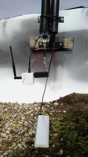 YO2LDK's remote RTL-SDR set up.
