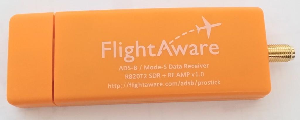 FlightAware Dongle Outside