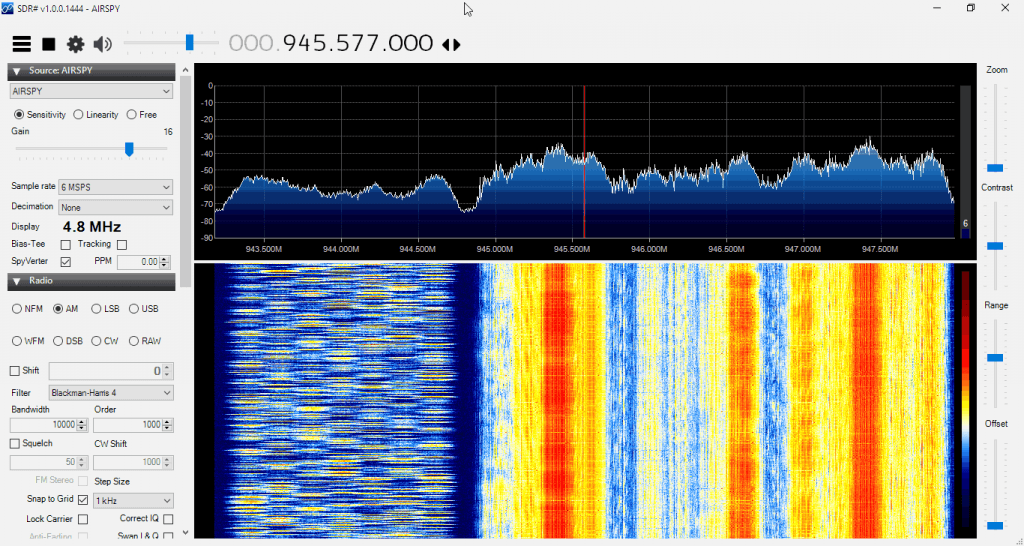 Monitoring the GSM Band