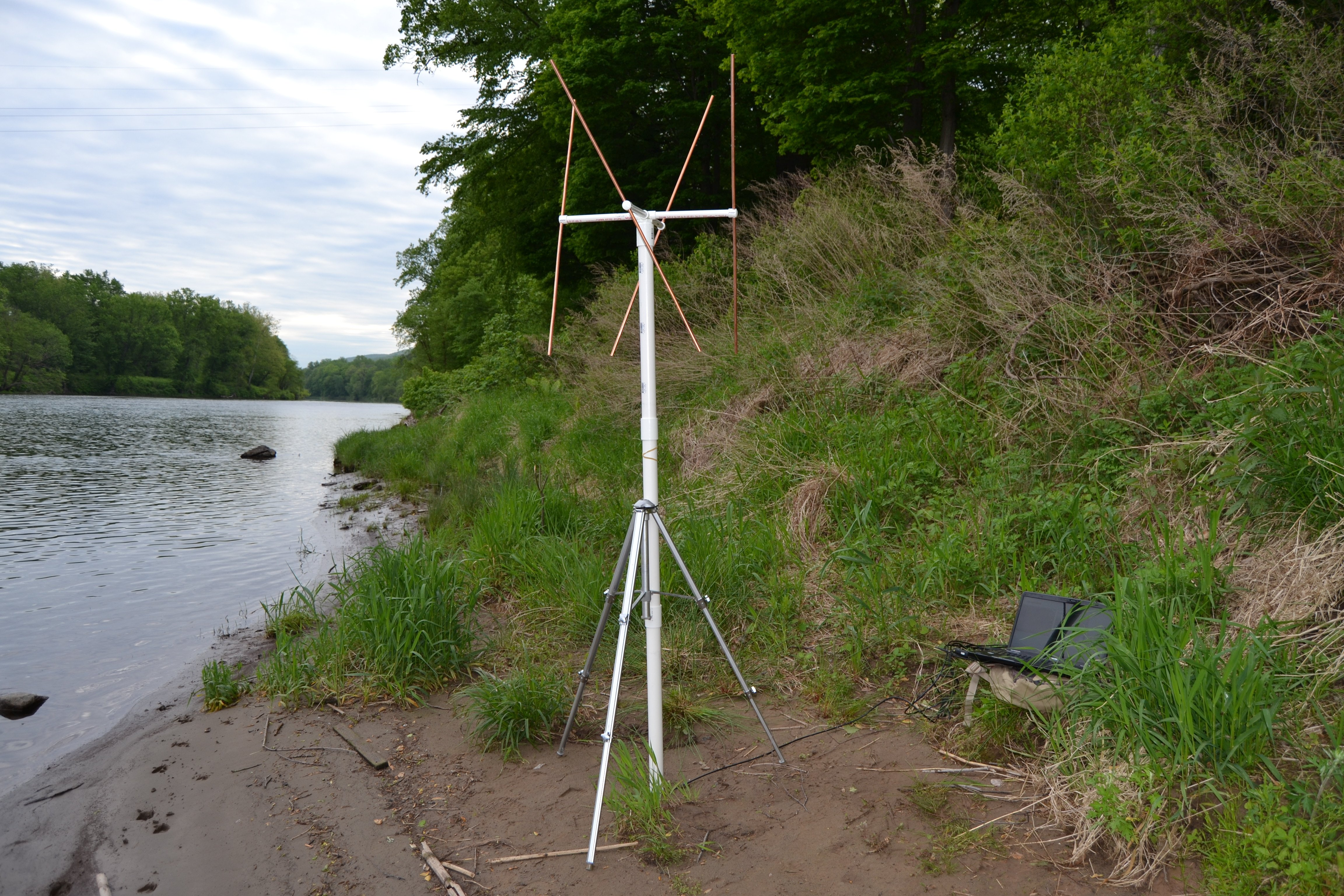 Instructions for Building a Portable Double Cross Antenna: Great for