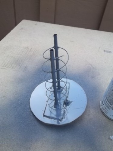 The final S-band antenna
