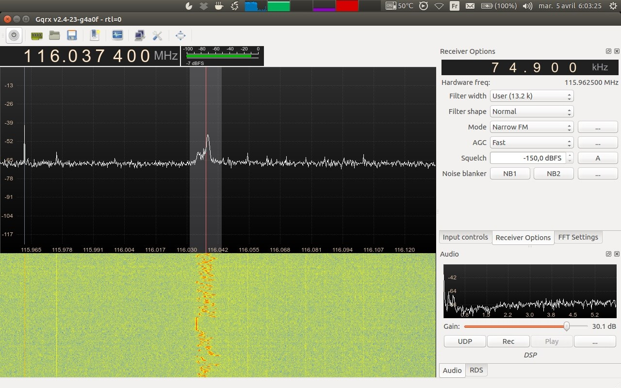 Using an RTL-SDR to Listen to Superhet Radio's Unintentional Emissions