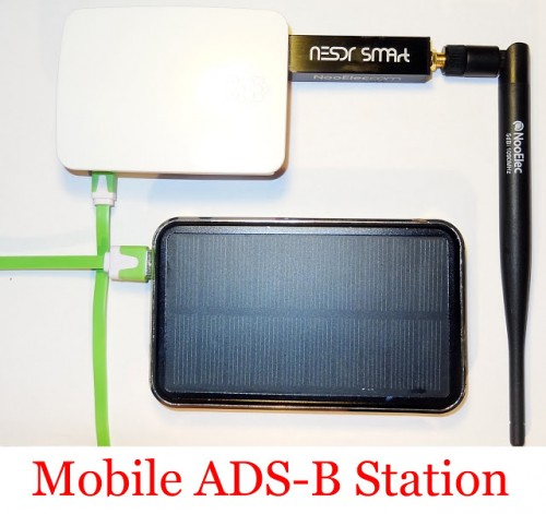 Akos' Mobile ADS-B Station.