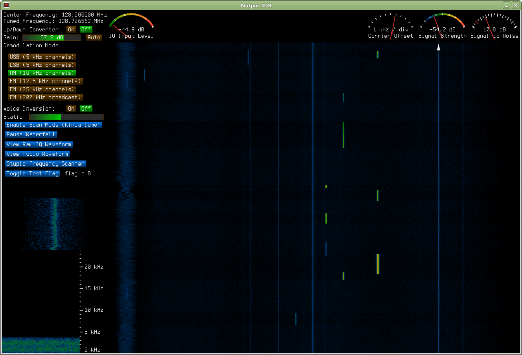 Natpos SDR Screenshot