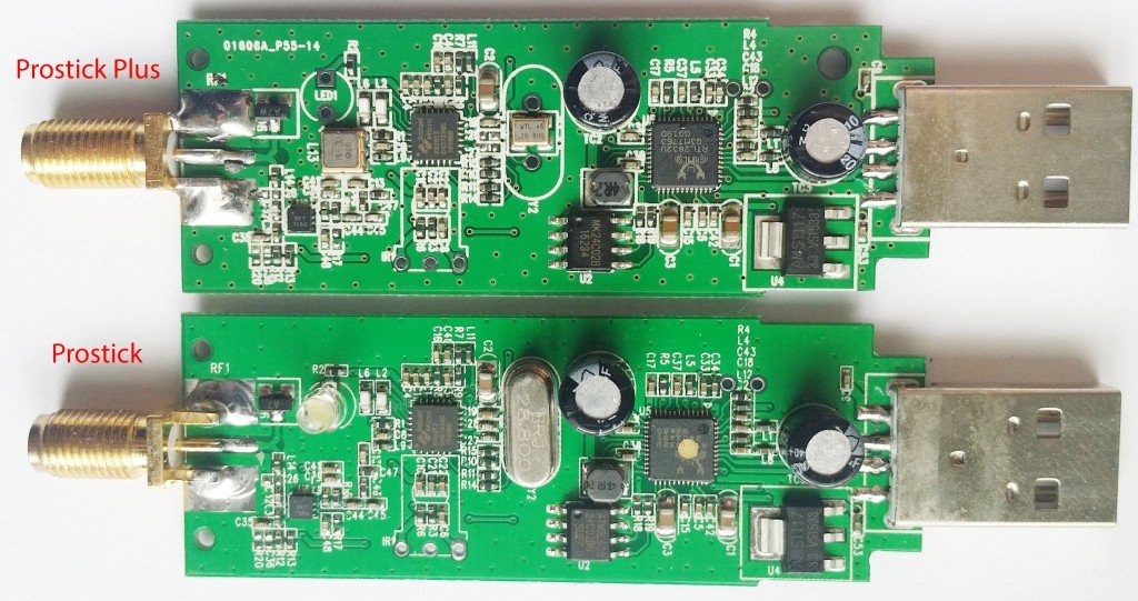 The Prostick Plus and Prostick PCBs