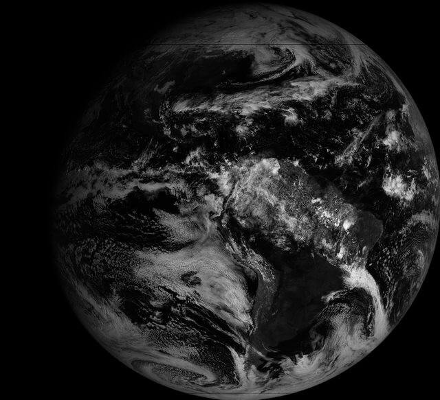 GOES Full Disk Image of the Earth