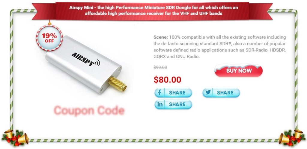 The Airspy Mini iTead Christmas Sale