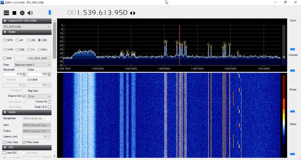 LES STD-C Inmarsat Channels