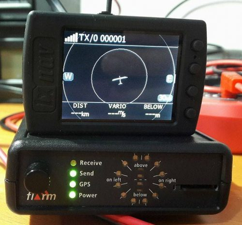 A Commercial FLARM receiver.