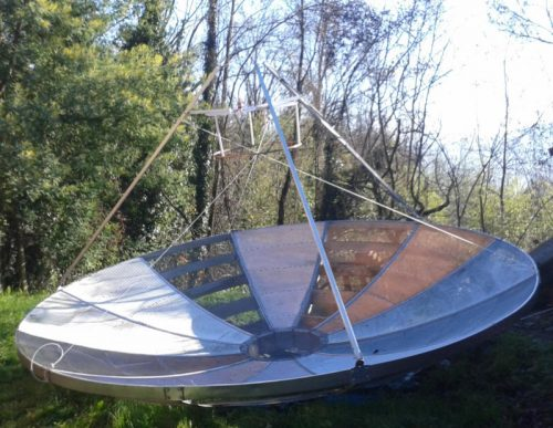 Andrea (IW5BHY)'s 4M dish.