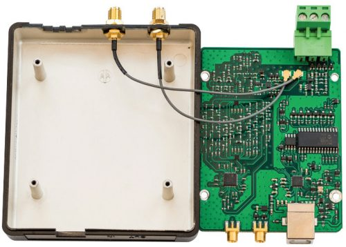 Photo of the RSP2 PCB from the RadCom review.