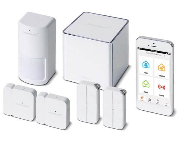 The iSmartAlarm IoT wireless alarm system