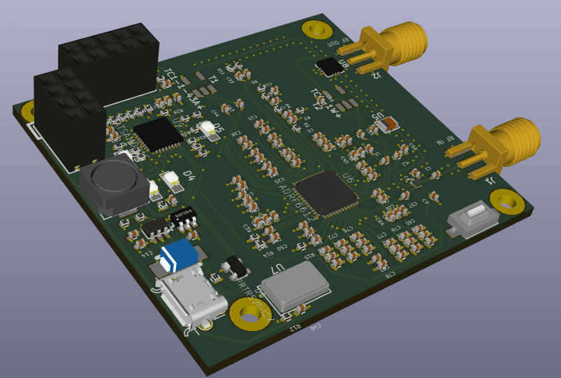 The Nigun Downconverter PCB Design