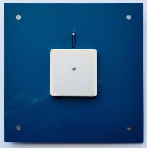 The L-Band Active Ceramic Patch Antenna.