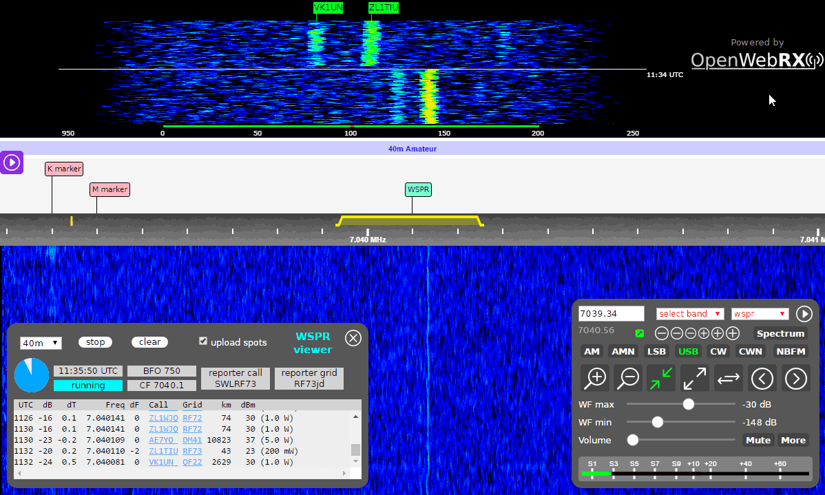 A Review of the KiwiSDR: 10 kHz – 30 MHz Wideband Network SDR