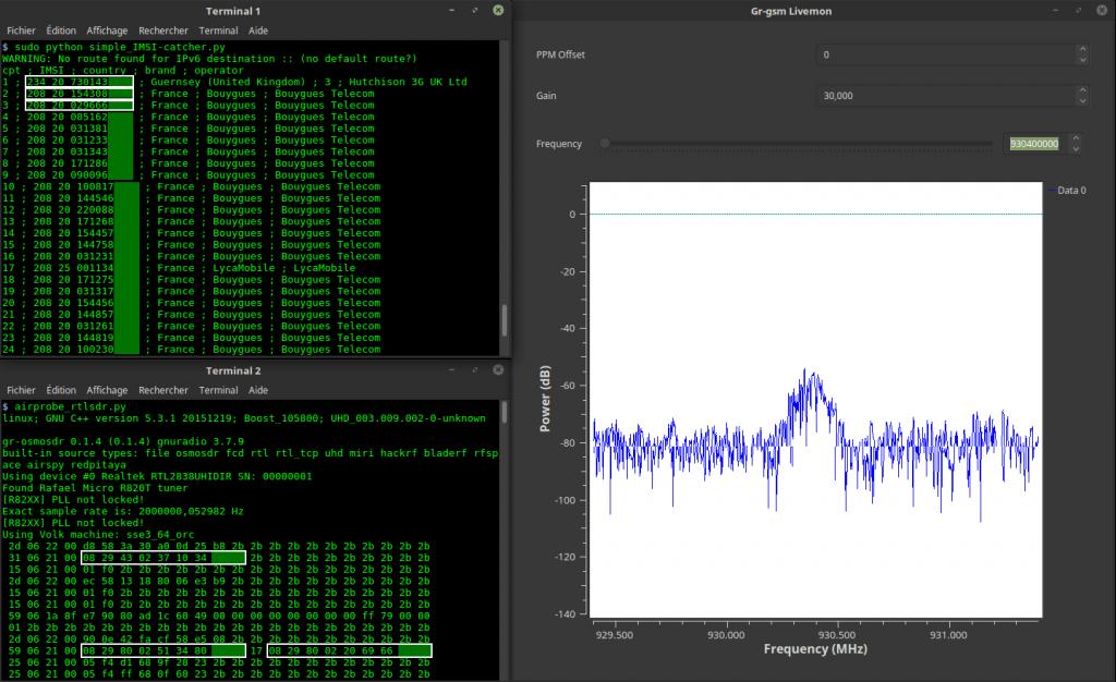 IMSI-Catcher Python Script