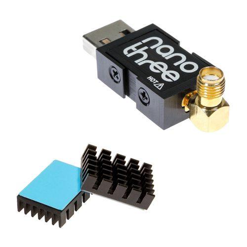 The NESDR Nano 3 small form factor RTL-SDR