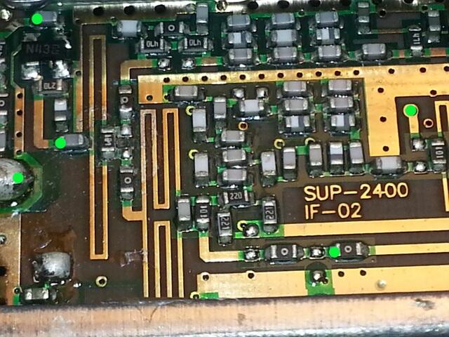 SUP-2400 Circuit.