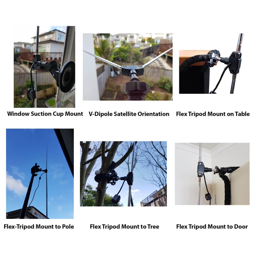 Some examples of how to use the mounts.