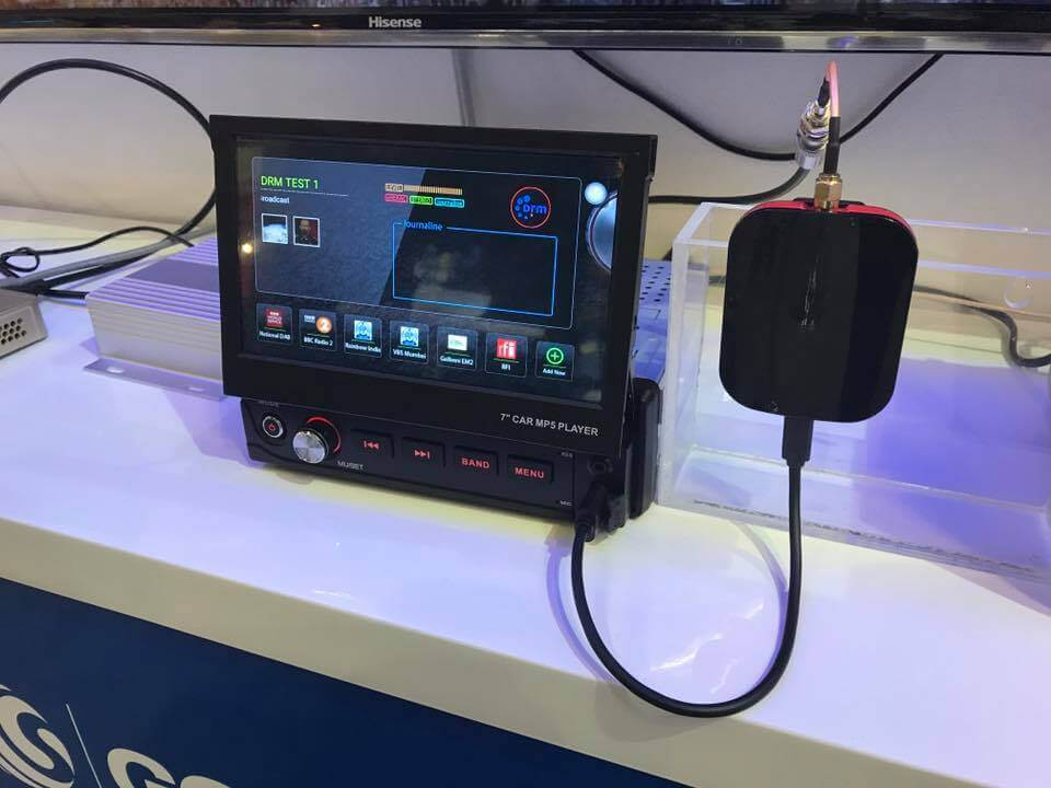 Gospell SDR Connected to a Car Radio Head Unit