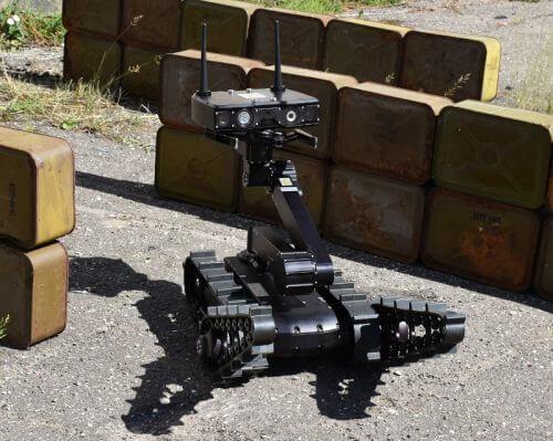Servosila EOD Robot