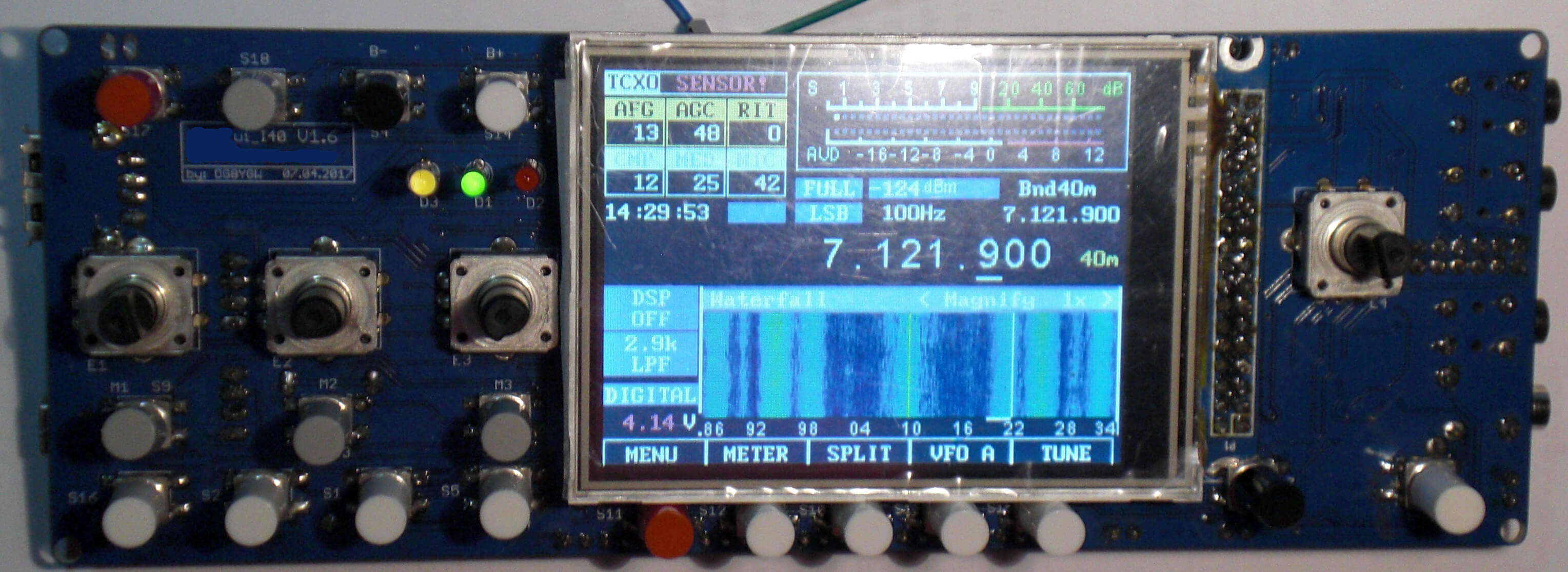 The Open Source OVI-40 SDR Transceiver