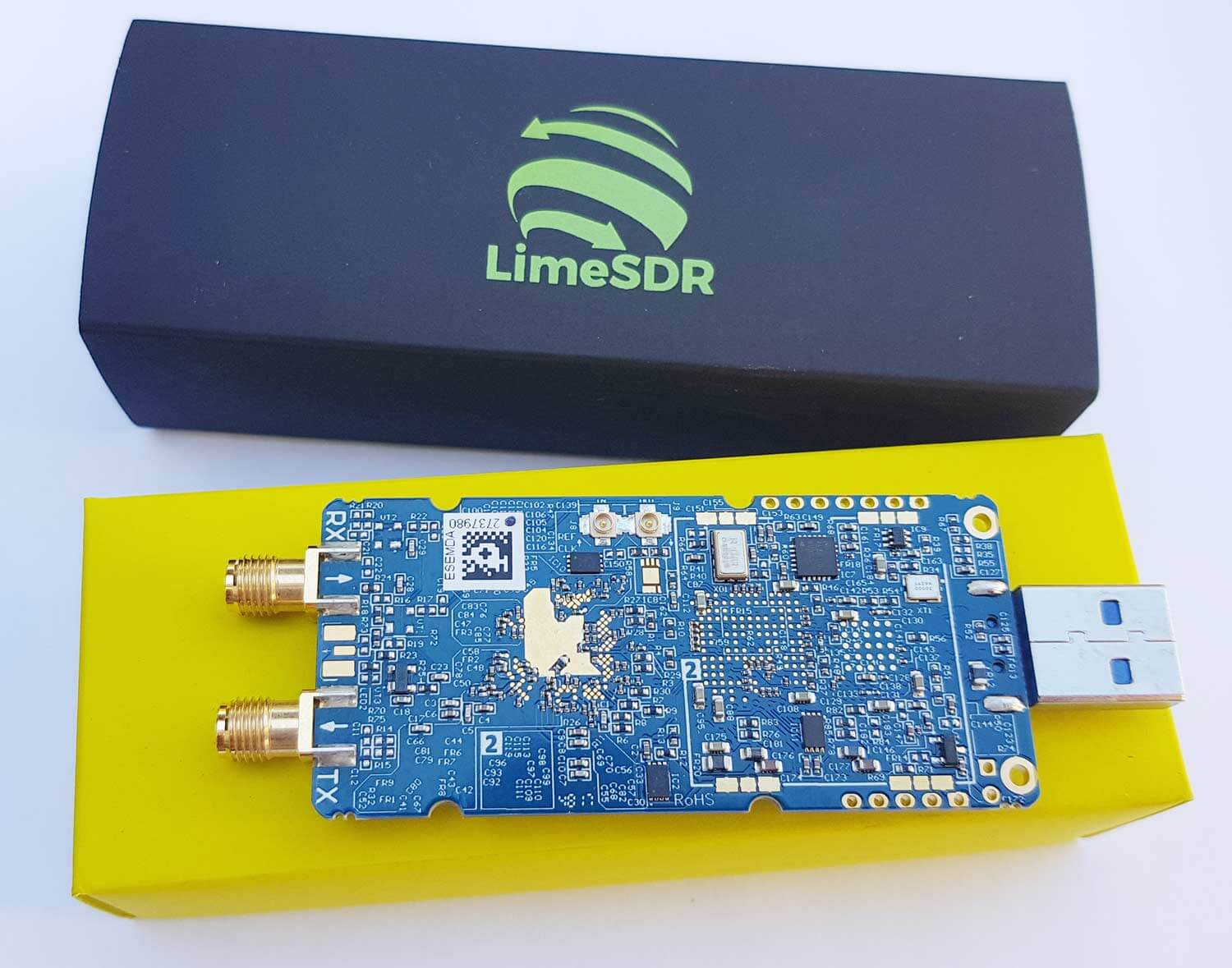 LimeSDR Mini Unboxing and Initial Review