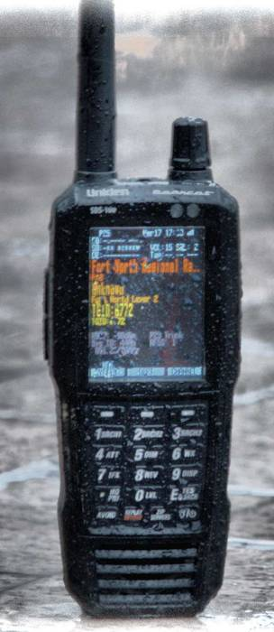 The Uniden SDS100 Handheld SDR Based Scanner
