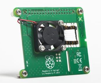 The Raspberry Pi 3 B+ Power over Ethernet Hat